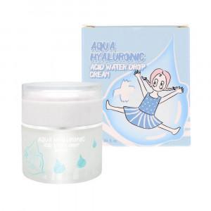 Увлажняющий гиалуроновый крем для лица Elizavecca Aqua Hyaluronic Acid Water Drop Cream 50ml
