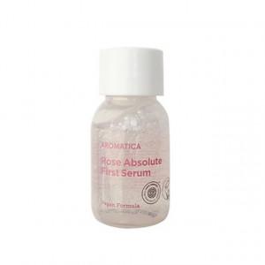 Восстанавливающая органическая сыворотка с экстрактом розы AROMATICA Rose Absolute First Serum 20ml