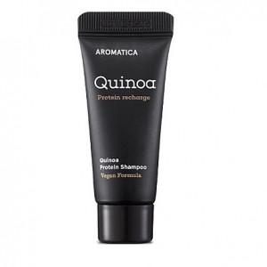 Безсульфатный шампунь с киноа для повреждённых волос AROMATICA Quinoa Protein Shampoo 20ml