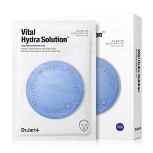 Увлажняющая маска с гиалуроновой кислотой Dr. Jart+ Dermask Water Jet Vital Hydra Solution 30g - 1шт.