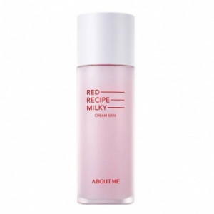 Увлажняющее молочко-тонер ABOUT ME Red Recipe Cleansing Milky Cream Skin 20ml
