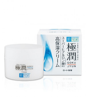 Гиалуроновый крем HADA LABO Gokujyun Hydrating Cream 50g