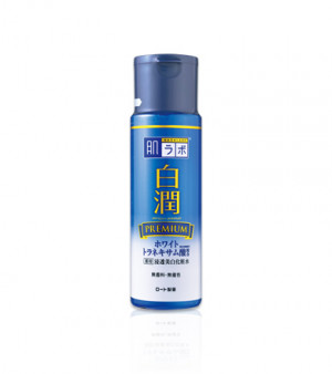 Премиум отбеливающий лосьон с транексамовой кислотой Hada Labo Shirojyun Premium Medicated Whitening Lotion 170ml