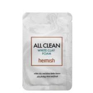 Очищающая пенка с белой глиной HEIMISH All Clean White Clay Foam 2ml