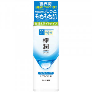 Гиалуроновый легкий лосьон-гидратор  HadaLabo GOKUJYUN Hydrating Lotion (Light Type) 170ml