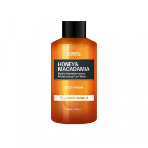 "Гель для душа ""Янтарная ваниль"" KUNDAL Honey & Macadamia Body Wash Amber Vanilla 100ml"