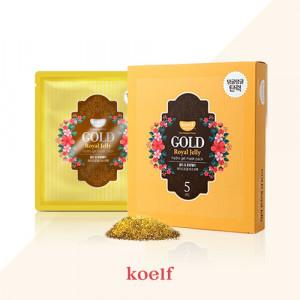Гидрогелевая маска для лица с золотом KOELF Gold & Royal Jelly Hydro Gel Mask 30g