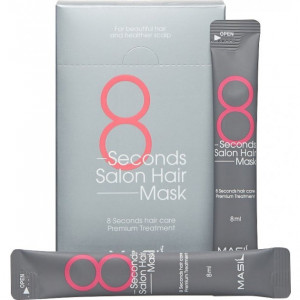 Восстанавливающая маска для волос MASIL 8 Seconds Salon Hair Mask Stick Pouch 8ml - 20шт