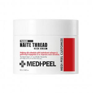 Лифтинг-крем для шеи с пептидным комплексом MEDI-PEEL Premium Naite Thread Neck Cream 100ml