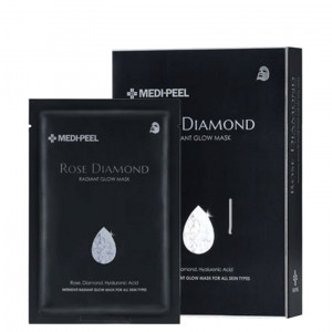 Тканевая маска с алмазной пудрой для сияния кожи MEDI-PEEL Rose Diamond Radiant Glow Mask Sheet 25ml