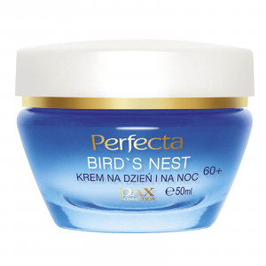 Питательный крем для лица для возраста 60+ PERFECTA Bird's Nest Cream Day and Night 60+ 50ml