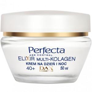 Лифтинг-крем для лица против морщин для возраста 40+ PERFECTA Elixir Multi-Collagen Cream Lifting 40+ 50ml