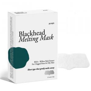 Тающая маска для носа против чёрных точек PETITFEE Blackhead Melting Mask - 5шт