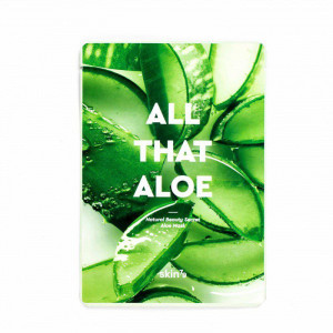 Увлажняющая тканевая маска для лица с алоэ Skin79 All That Aloe Mask 25g - 10шт