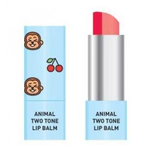 Двухцветный бальзам для губ Skin79 Animal Two-Tone Lip Balm Cherry Monkey 3.8g