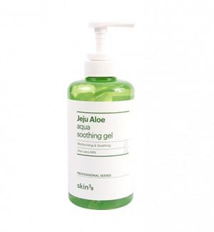 Универсальный гель c алоэ Skin79 Jeju Aloe Aqua Soothing Gel (Pump) 500ml