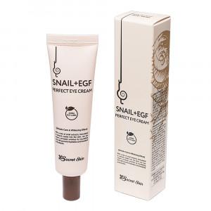 Крем для глаз с муцином улитки Secret Skin Snail+EGF Perfect Eye Cream 30g