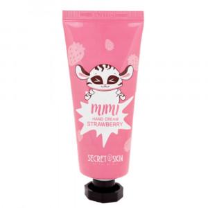 Крем для рук c экстрактом клубники Secret Skin Mimi Hand Cream Strawberry 60ml