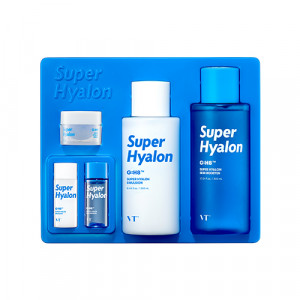 Набор интенсивно увлажняющий средств VT COSMETICS Super Hyalon Skin Care Set