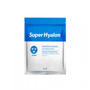 Увлажняющие ампульные маски с гиалуроновой кислотой VT COSMETICS Super Hyalon 7 Days Mask 120g - 7шт.