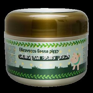 Маска для лица с коллагеном Elizavecca Green Piggy Collagen Jella Pack 100ml