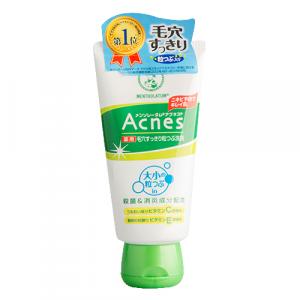 Лечебный крем-скраб для лица против акне Mentholatum Acnes Medicated Scrub 130g