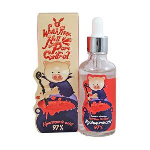 Ампульная сыворотка с гиалуроновой кислотой Elizavecca Witch Piggy Hell-Pore Control Hyaluronic Acid 97% 50ml