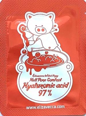 Ампульная сыворотка с гиалуроновой кислотой Elizavecca Witch Piggy Hell Pore Control Hyaluronic Acid 97% (пробник)