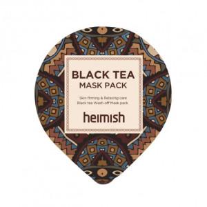 Успокаивающая маска для лица с черным чаем HEIMISH Black Tea Mask Pack 5ml
