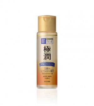 Премиум гиалуроновый лосьон HADA LABO Gokujyun PREMIUM Super Hyaluronic Acid Lotion 170ml