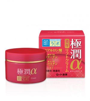 Антивозрастной гиалуроновый лифтинг крем HADA LABO Gokujyun Lifting Alpha Cream 50g