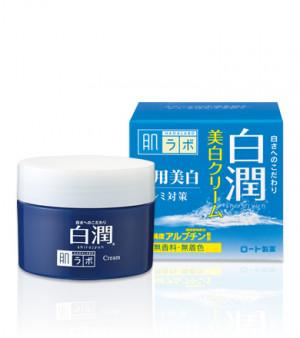 Отбеливающий крем с арбутином HADA LABO Shirojyun Medicated Whitening Cream 50g