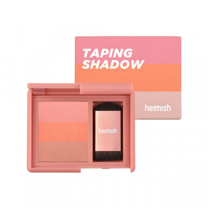 Палетка теней HEIMISH Taping Shadow Peach Coral 4g