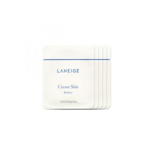 Увлажняющие крем-пады LANEIGE Cream Skin Refiner Quick Mask Pack 5ml
