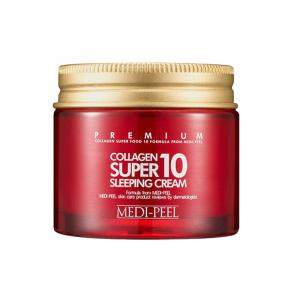 Омолаживающий ночной крем для лица с коллагеном MEDI-PEEL Collagen Super10 Sleeping Cream 70ml