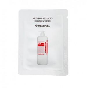 Восстанавливающий тонер с коллагеном и лактобактериями MEDI-PEEL Red Lacto Collagen Toner 1.5ml