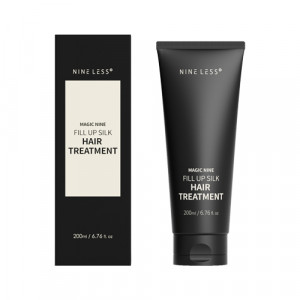 Восстанавливающая несмываемая маска для волос NINELESS Magic Nine Fill Up Silk Hair Treatment 200ml