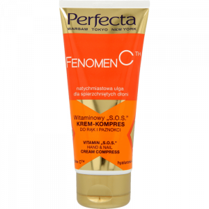 "Крем для рук и ногтей с витаминами PERFECTA Fenomen C Vitamin ""S.O.S"" Hand & Nail Cream Complex 80ml"