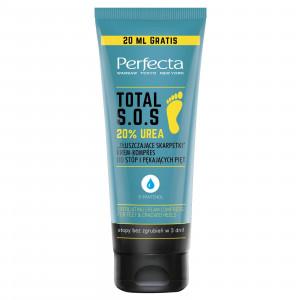 "Крем-компресс для ног с пантенолом ""Отшелушивающие носки"" PERFECTA Total S.O.S. 20% Urea 120ml"