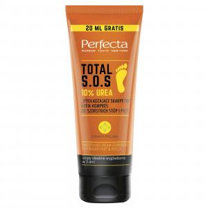 "Крем-компресс для ног и пяток ""Разглаживающие носки"" PERFECTA Total S.O.S. 10% Urea 120ml"