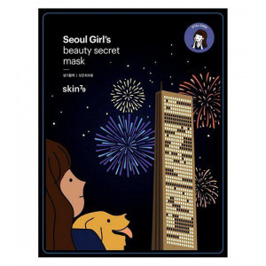 Восстанавливающая тканевая маска для лица Skin79 Seoul Girl's Beauty Secret Mask Vital Care - 10шт