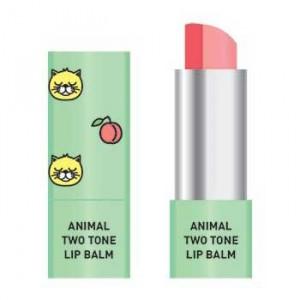 Двухцветный бальзам для губ Skin79 Animal Two-Tone Lip Balm Peach Cat 3.8g