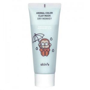 Увлажняющая глиняная маска для лица Skin79 Animal Color Clay Mask Dry Monkey 70g