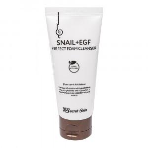 Пенка для умывания с муцином улитки Secret Skin Snail+EGF Perfect Foam Cleanser 100ml