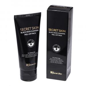 Маска-пленка от черных точек Secret Skin Black Head Cleaning Peel-Off Pack 100ml