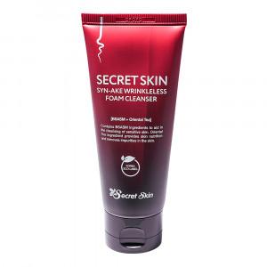 Пенка для умывания с пептидом змеиного яда  Secret Skin Syn-Ake Wrinkless Foam Cleanser 100ml