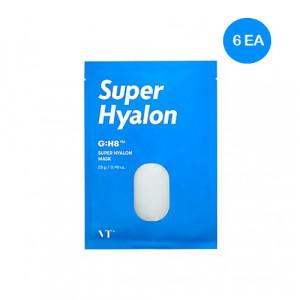 Увлажняющая ампульная маска с гиалуроновой кислотой VT COSMETICS Super Hyalon Mask 28g x 6шт.