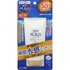 Сонцезахисна зволожуюча есенція Skin Aqua Super Moisture Essence SPF 50 + / PA ++++ 80g