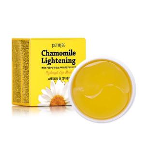 Гідрогелеві освітлюючі патчі для очей з екстрактом ромашки PETITFEE Chamomile Lightening Hydrogel Eye Mask 60шт