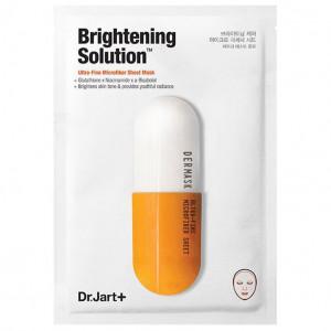 Освітлююча маска-детокс для обличчя Dr.Jart+ Dermask Micro Jet Brightening Solution 30g - 1шт. (Термін придатності: до 11.12.2021)
